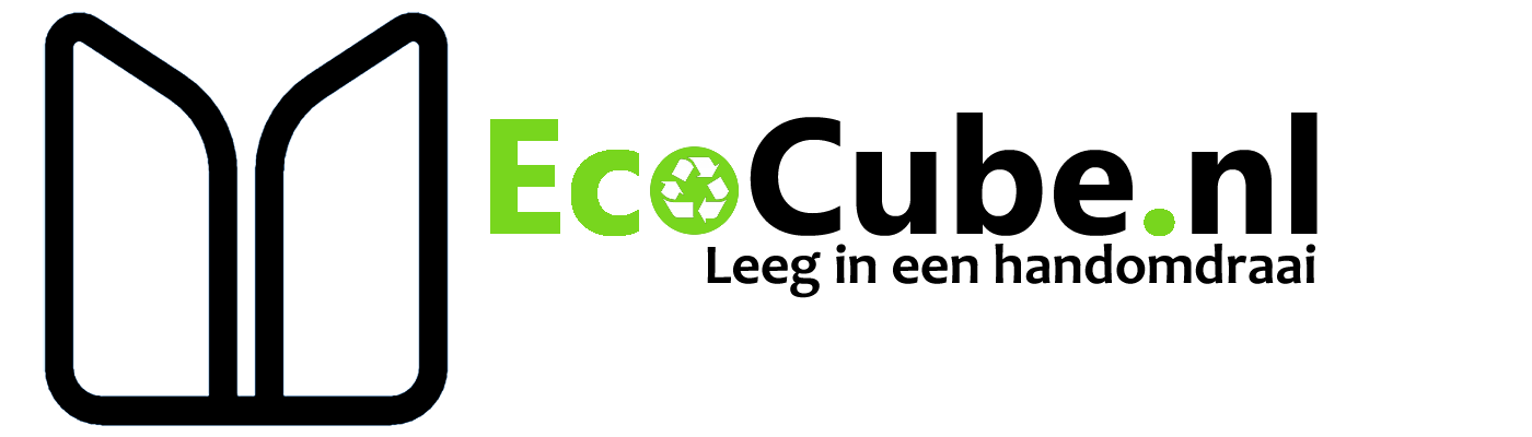 Ecocube.nl | Leeg in een handomdraai Logo
